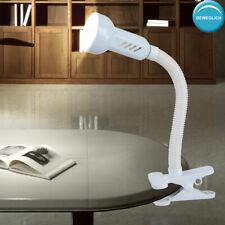 Klemm Lampe Nacht Tisch Licht Schlaf Zimmer Beleuchtung Lese Leuchte beweglich
