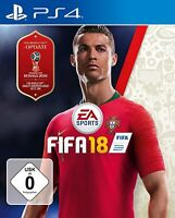 PS4 Spiel EA Sports FIFA 18 WM Edition 2018 Fußball dt. Version Blitzvesand NEU