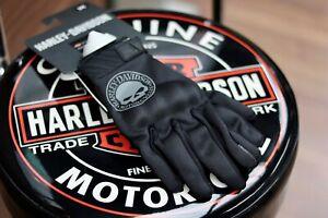 Harley-Davidson Men's Willie G Skull Soft Shell Riding Gloves 98364-17EM