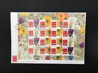 Israel ZD-Bogen MiNr. 1616-19 Zf Ersttagsbriefe/ FDC Blumen (BW7454