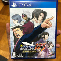 PS4 Phoenix Wright Ace Attorney Trilogy From JAPAN USED