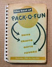 The Best of Pack-O-Fun Skits, Crafts, Gifts, Favors 1961