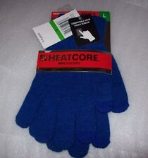 MENS HEAT CORE GLOVES WEATHERPROOF TECHNOLOGY COMPATIBLE WITH TOUCH SCREEN NWT