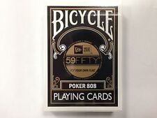 1 deck BICYCLE 59 FIFTY NEW ERA PLAYING CARDS ~rare~S1031662505-B