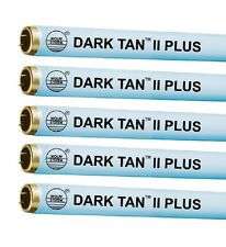 Tanning Bed Lamps Bulbs Wolff Dark Tan Plus Fr71 T12 100W Reflector Lot of 34