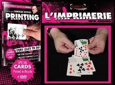 DUVIVIER - L'imprimerie + DVD - Tour de magie - Carte