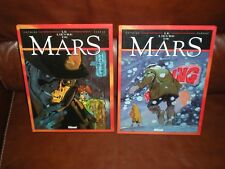 LE LIEVRE DE MARS - LOT DES 2 PREMIERS TOMES EDITIONS 1999 - COTHIAS / PARRAS