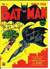 Batman #1 Masterpiece Edition - Signed by Adam West & Burt Ward JSA Certified