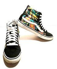 Vans SK8 Hi Top Floral Skateboard Shoes Mens Size 8.5 Womens Size 10 (M-113)