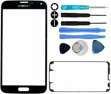 Samsung Galaxy S5 G900 Front Glass Lens Screen Replacement Repair Kit Black