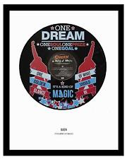 QUEEN  - MEMORABILIA - IT'S A KIND OF MAGIC - VINYL RECORD ART - Ideal Gift