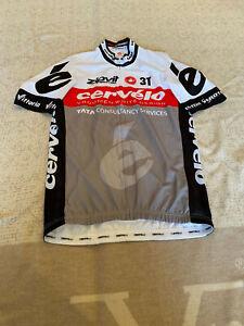 CASTELLI Cycling Jersey BRAND NEW ORIGINAL CERVELO SHORT SLEEVES SIZE L Unisex