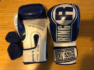 Blue Ringside Boxing MMA Kickboxing Apex Flash Sparring FTG2 M/L