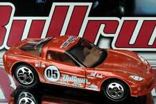 2005 Hot Wheels Bullrun Exclusive C6 Corvette mtflk orange