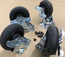 Set Of 4 5 Heavy Duty Swivel Roller Locking Casters