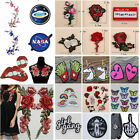 28Style Cute Embroidery Sew Iron On Patch Badge Cloth Bag Dress Fabric Appliques