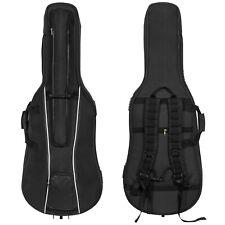 MI&VI Travel Cello Soft Case Gig Bag, 20mm Thick Padding, Weather Resistant