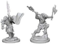 D&D Nolzur's Marvelous Miniatures Dragonborn Female Fighter (2)