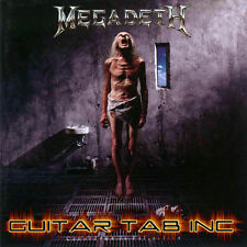 Megadeth Guitar Tab COUNTDOWN TO EXTINCTION Lessons on Disc