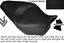 Black stitch personnalisé Fits Honda VFR 1200 F 09-13 double housse siège en cuir