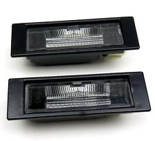 BMW E81 E82 E87 E63 E64 Z4 E85 MINI R57 R58 Number Plate Lights Lamps PAIR