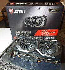 MSI Radeon RX 5700 MECH OC 8GB GDDR6 Graphics Card (BIOS Flashable to RX5700 XT)