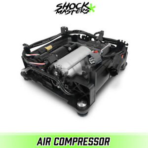 Air Ride Suspension Air Compressor w/ Cage for 2006-2012 Land Rover Range Rover