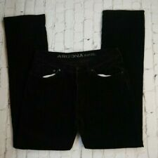 Arizona Jean Co Black Corduroy Men Skinny Pants Size 36x34 Pre-owned