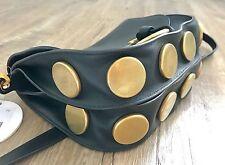 Previously Owned Chloe Kurtis Black Calf Leather Shoulder Crossbody Bag $1890