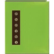 Pioneer 4x6 Photo Album CMB-46 Green Metal Buttons Brag Photo Album