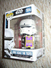 Funko Pop Vinyl 2017 Summer Con Ex Star Wars Combat Assault Tank Trooper # 184