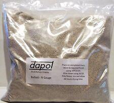 Dapol 2S-000-004 - 'N' Gauge Real Crushed Limestone Type Ballast 1.5kg Bag T48 P