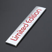 1x Red Limited Edition Logo Emblem Badge Metal 3D Sticker Decal Car Accessories