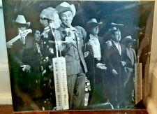 VINTAGE ROY ROGERS AND DALE EVANS 8 x 10 PICTURE IN BLACK AND WHITE