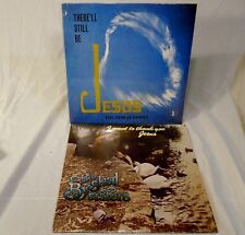 Two  Byskal Sisters Family LP Christian Records Want to Thank You Jesus