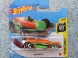 Hot Wheels 2021 #006/250 CARBONATOR clear orange and green Bottle opener @A