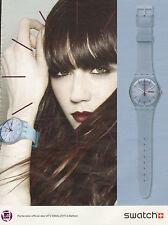 Publicité Advertising 2011 montre SWATCH collection mode bijoux accessoire