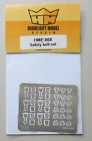 Safety Belt Locks Set (2 Styles) 1:24 1:25 HIGHLIGHT MODEL CAR Part 8