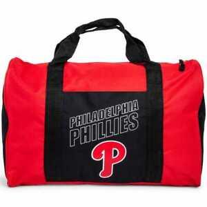 Philadelphia Phillies Duffel Bag Gym Bag Overnight Bag 18x12x8 MLB