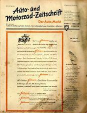 Der Auto-Markt 1950 32/33/50 Auto- und Motorrad-Zeitschrift Nash-Rambler Ford