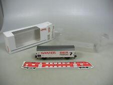 AD18-0,5# Märklin H0 46201 Jahreswagen 2004 Ganter Bier DB NEM KK, NEUW+OVP