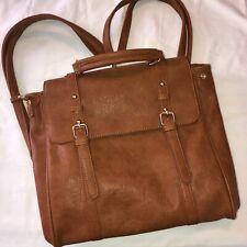 MMS Satchel Backpack Handbag Large Brown