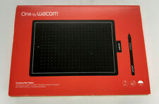 One by Wacom Graphic Drawing Tablet for Beginners, Medium