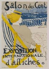 Toulouse Lautrec Salon des Cents Poster Fine Art Lithograph S2 Hand Pulled