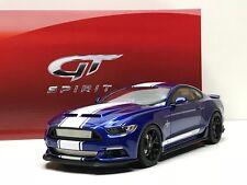 1:18 Shelby Mustang Super Snake2017 color Impacto Profundo Azul GT Spirit GT204