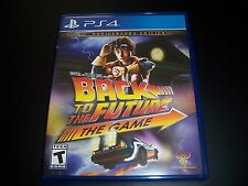 Replacement Case (NO GAME) BACK TO THE FUTURE PlayStation 4 PS4 Original Box
