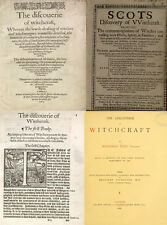 THE DISCOVERY OF WITCHCRAFT, FIRST (1584) SECOND (1651) & (1881) EDITIONS ON DVD