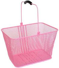 Sunlite Front Deluxe Lift-Off Wire Basket // 14.5x8.5x7 w/ Bracket // Pink