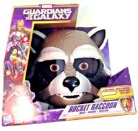 NEW Hasbro Marvel Guardians of the Galaxy Rocket Raccoon Kid's Moving Toy Mask