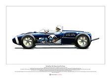Stirling Moss, 1961 Monaco Grand Prix Winner ART POSTER A2 size